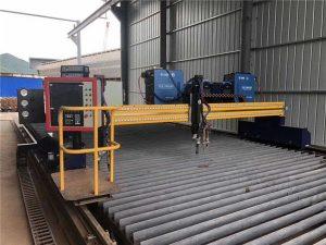 Ang automated CNC Plasma Cutting Machine Doble nga Pagmaneho 4m Span 15m Riles