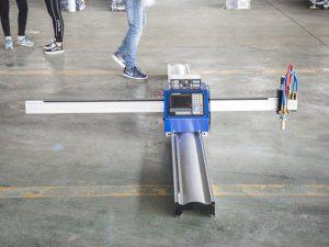 bag-o nga teknolohiya micro pagsugod cnc metal cutter / portable cnc plasma cutting machine