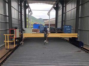 Ang katukma sa CNC Plasma Cutting Machine Tukma 13000mm Uban sa Servo Motor