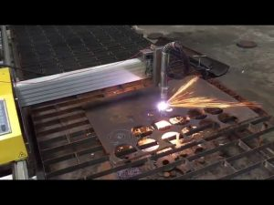 portable cnc flameplasma cutting machine nga adunay hypertherm 45